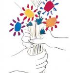 Picasso, Mains aux Fleurs